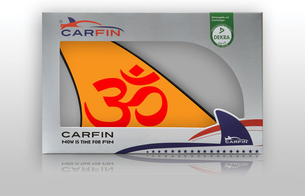 OM  Car Flag CARFIN , Magnetic Car signs. - Carfin