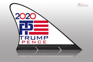 Election 2020 Donald Trump  Car Flag CARFIN , Magnetic Car signs.