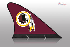 Washington Redskins Car Flag, CARFIN  Magnetic Car Flag.