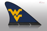 West Virginia Mountaineers Car Flag, CARFIN  Magnetic Car Flag. - Carfin