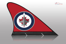 Winnipeg Jets Car Flag, CARFIN  Magnetic Car Flag.