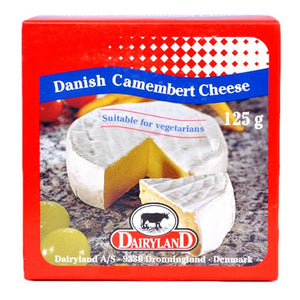 Danish Camembert Cheese 125g Dairyland