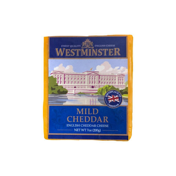 Cheddar MILD Coloured Cheese 200g Westminster