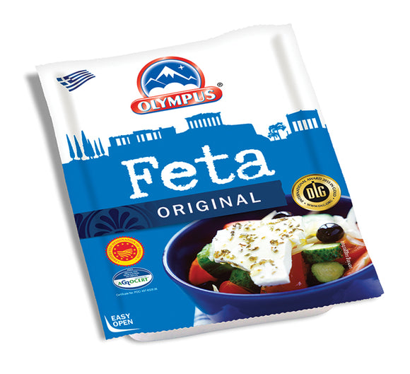 Feta Cheese P.D.O (Sheep & Goat Milk) 200g Olympus