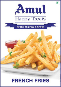 French Fries 2.5 Kg Amul Happy Treats