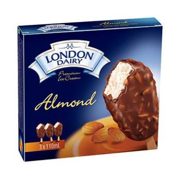 Almond Bar 110 ml London Dairy Ice cream