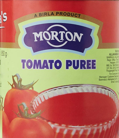 Tomato Puree 850g x 2 Morton
