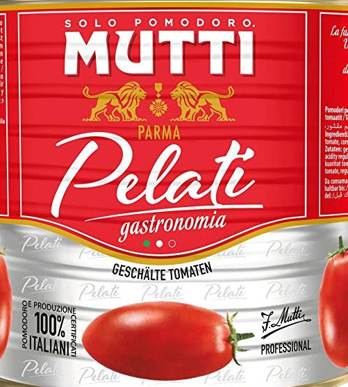Whole Peeled Tomatoes 2.5Kg Mutti Italian