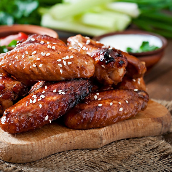 Coated Spicy Chicken Wings 1Kg