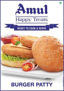 Veg Burger patty 360g Amul Happy Treats