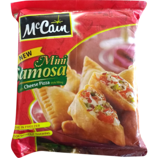 Cheese pizza samosas 540 g McCain