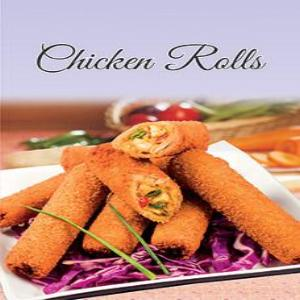 Chicken Rolls Breaded 1Kg