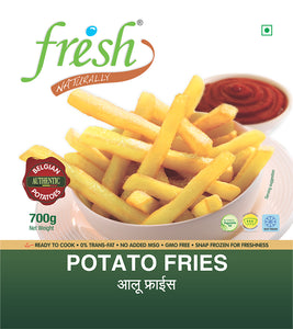 Potato Fries 700g Fresh