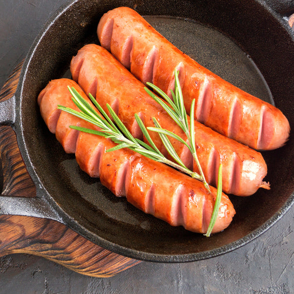 Tanny's Chicken Cheese & Onion Sausages 200g