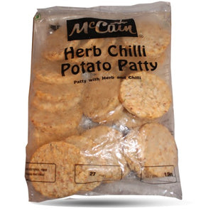 Herb Chilli Potato Patty 1.5kg McCain