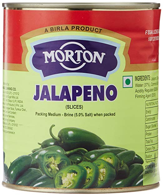 Jalapeno Sliced 825g Birla Morton