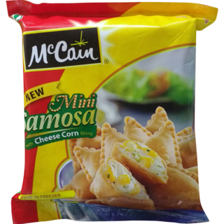 Cheese corn samosas 540g McCain