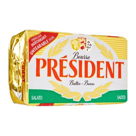 Butter-Salted 500gm President