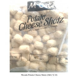 Potato Cheese Shotz 1kg McCain