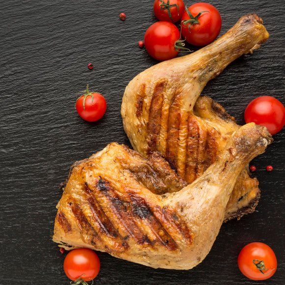 Chicken Whole Leg Skinless 480-530g per Pack