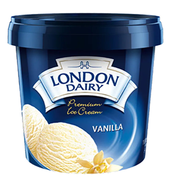 Vanilla 1 Ltr London Dairy
