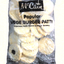 Veggie Burger Patty 1.20kg McCain