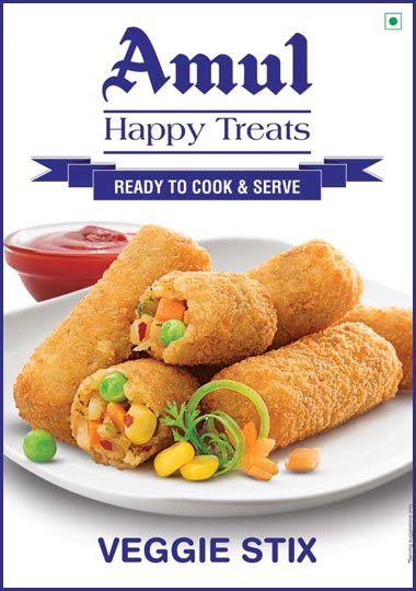 Veggie Stix 425g Amul Happy Treat