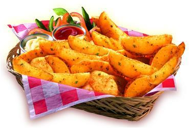 Savoury Wedges 2.5kg McCain