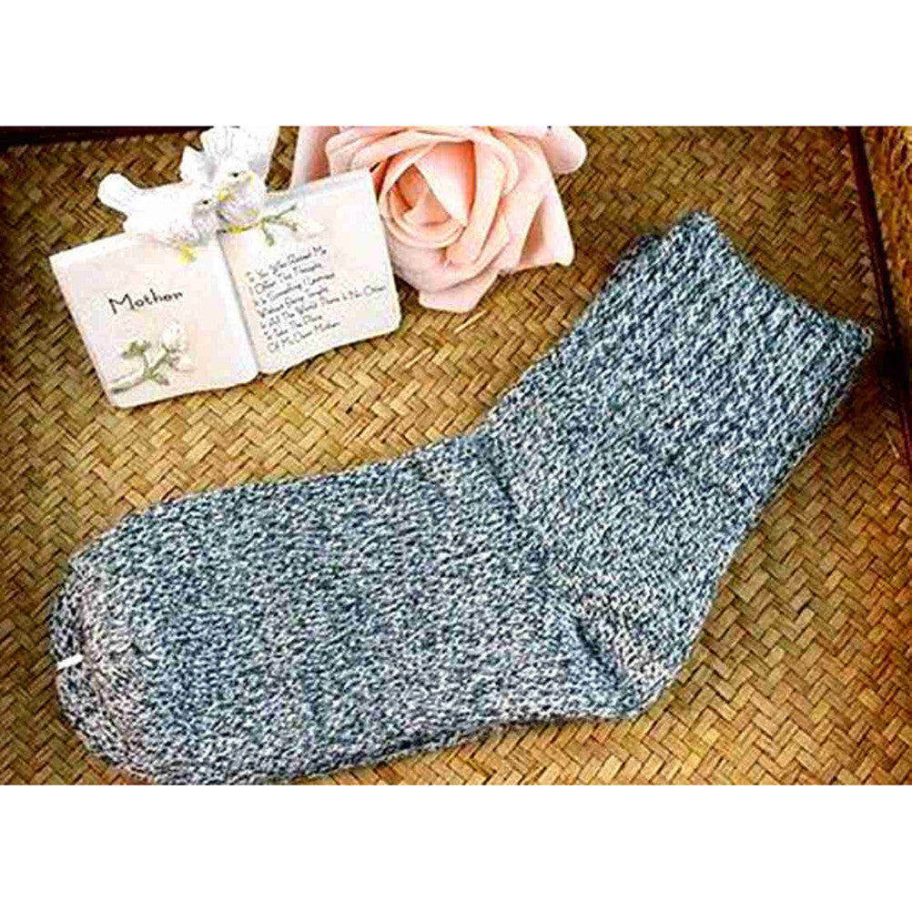 5 Pairs of Women Wool Cashmere Thick Warm Soft Casual Sports Socks ... 281daa0c1