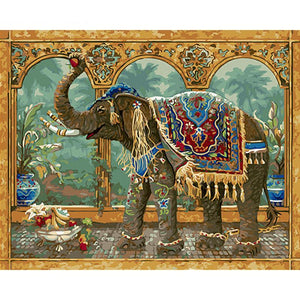 Vintage Elephant - iHeart Paint By Numbers
