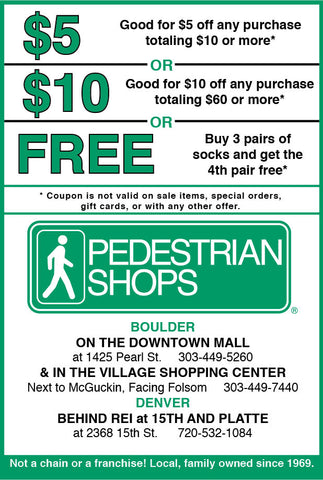 Pedestrian Shops In Store Coupon
