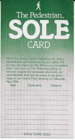 Shoe Some Sole Card