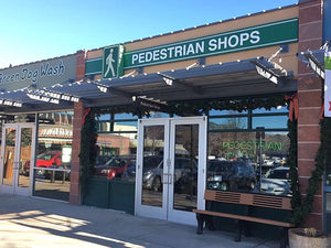 Pedestrian Shops in The Village - Boulder, CO shoe store