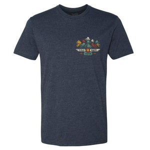 YO Colorado 14er Short Sleeve - Heather Navy
