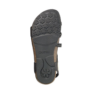 Aetrex Jillian Sandal - Black sole