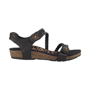 Aetrex Jillian Sandal - Black side