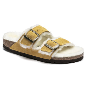 Birkenstock Arizona Shearling - Ochre / Natural