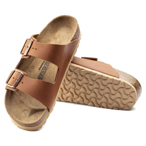 Birkenstock Arizona - Antique Cognac pair
