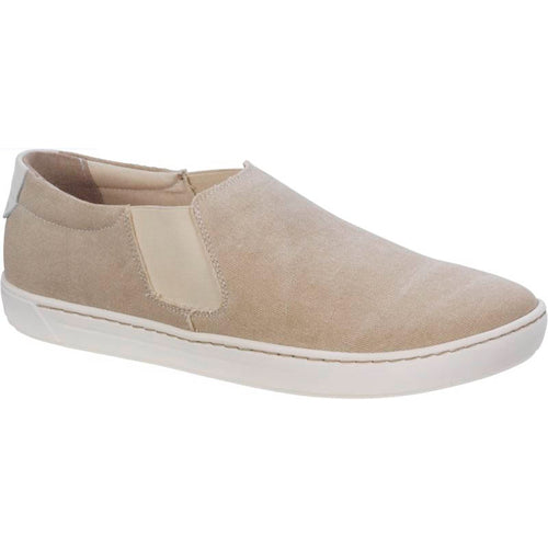 Birkenstock Barrie Slip-On - Sand Canvas