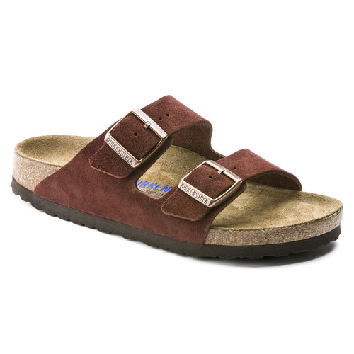 Birkenstock Arizona Soft Footbed - Port Suede