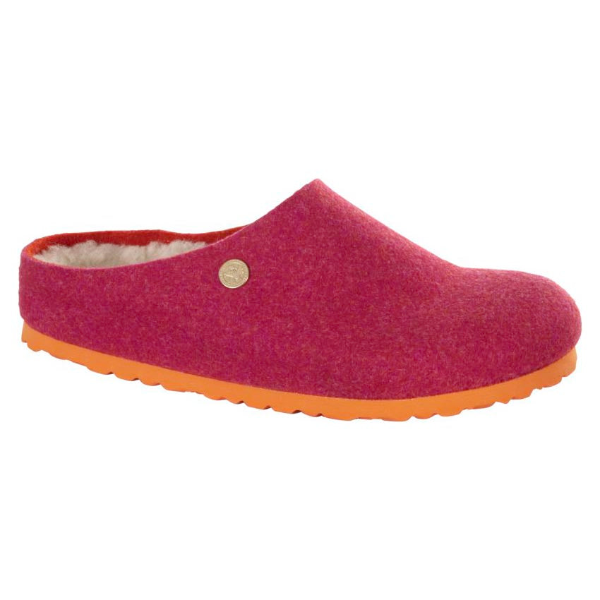 Birkenstock Kaprun Happy Lamb Clog - Double Face Fuchsia