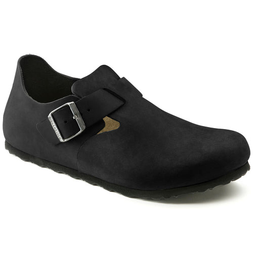 Birkenstock London - Black Oiled Leather