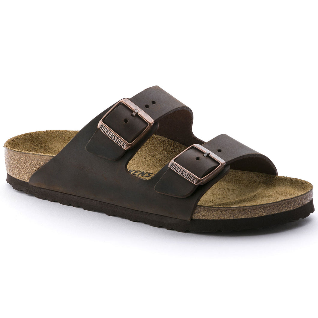 Birkenstock Arizona Sandal - Habana Oiled Leather