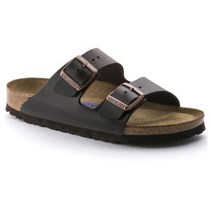 Birkenstock Arizona Soft Footbed Sandal - Testa Di Moro Amalfi Leather