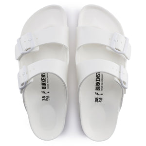 Birkenstock Arizona EVA Sandal - White Top View