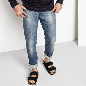 Birkenstock Arizona Shearling - Black on Man