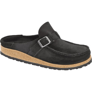 Birkenstock Buckley Clog - Black Suede
