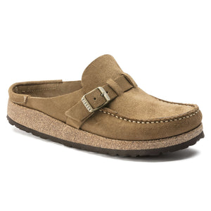 Birkenstock Buckley Clog - Tea Suede