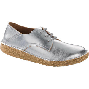 Birkenstock Gary Lace-up - Metallic Silver