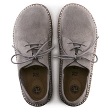 Birkenstock Gary Lace-up - Light Gray Suede